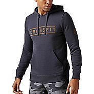 Mens Reebok CrossFit Virtuosity Half-Zips & Hoodies Technical Tops