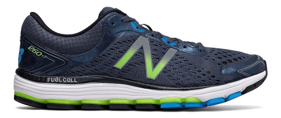 Mens New Balance 1260v7 Running Shoe - Thunder/Black 11