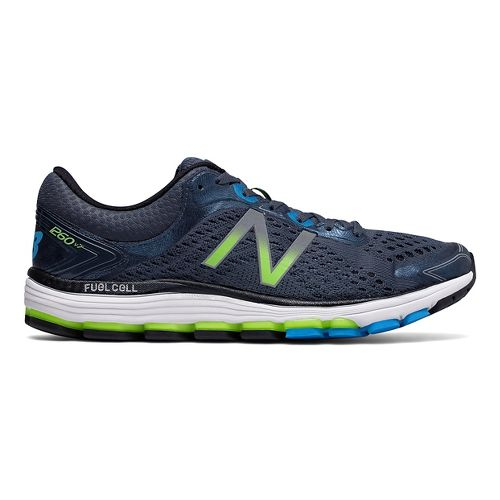 Mens New Balance 1260v7 Running Shoe - Thunder/Black 12