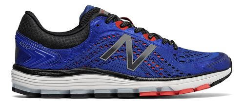 Mens New Balance 1260v7 Running Shoe - Blue/Flame 10
