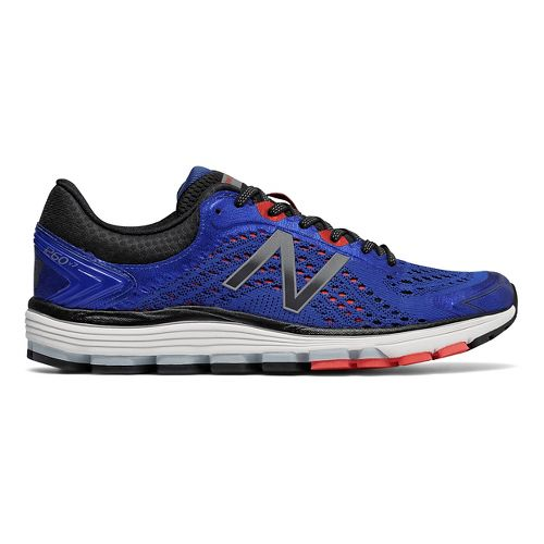Mens New Balance 1260v7 Running Shoe - Blue/Flame 10.5