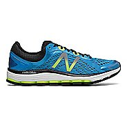 Mens New Balance 1260v7 Running Shoe - Blue/Lime 9