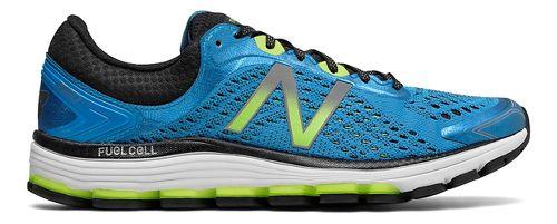 Mens New Balance 1260v7 Running Shoe - Blue/Lime 11.5