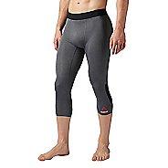 Mens Reebok 3/4 Compression Tights & Leggings Pants
