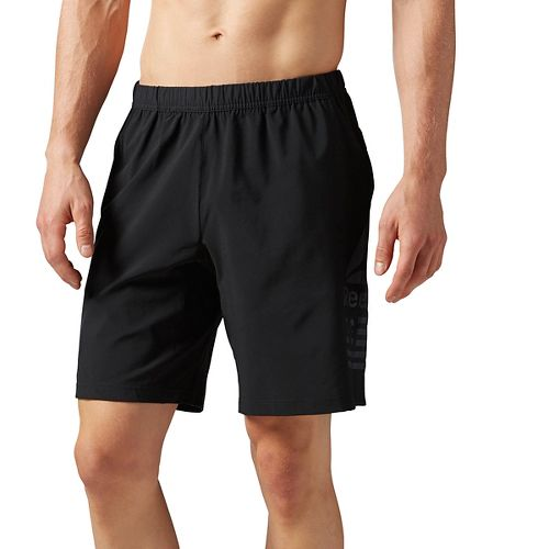Mens Reebok Speed Unlined Shorts - Black M