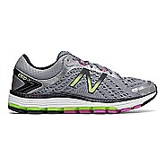 Womens New Balance 1260v7 Running Shoe - Grey/Green 6