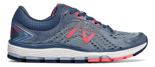 Womens New Balance 1260v7 Running Shoe - Indigo/Coral 10.5