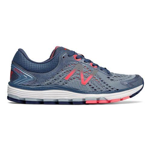 Womens New Balance 1260v7 Running Shoe - Indigo/Coral 9.5