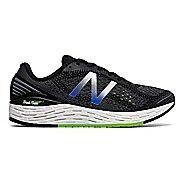 Mens New Balance Fresh Foam Vongo v2 Running Shoe - Black/Lime 10.5