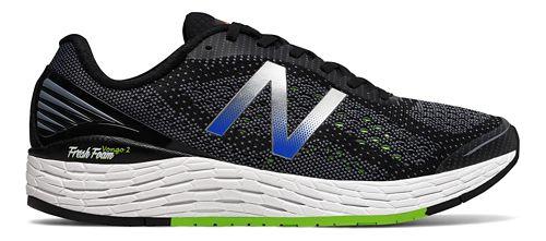 Mens New Balance Fresh Foam Vongo v2 Running Shoe - Black/Lime 9.5