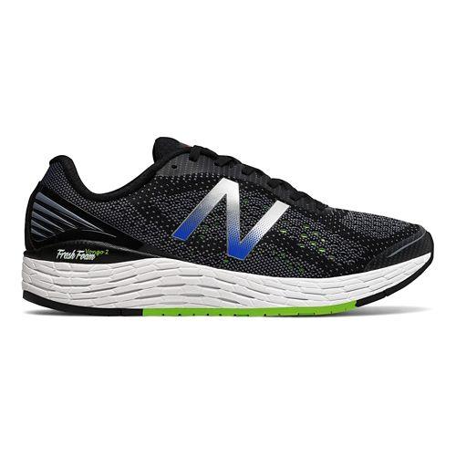 Mens New Balance Fresh Foam Vongo v2 Running Shoe - Black/Lime 7.5