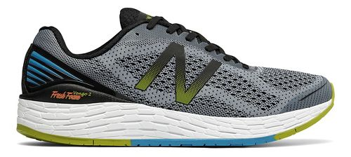 Mens New Balance Fresh Foam Vongo v2 Running Shoe - Grey/Black 8.5