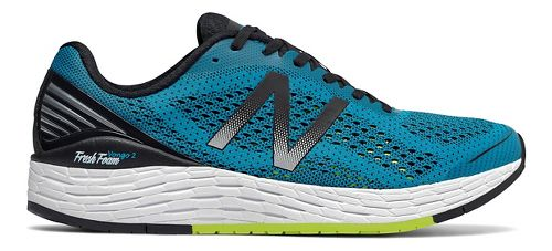 Mens New Balance Fresh Foam Vongo v2 Running Shoe - Blue/Black 8