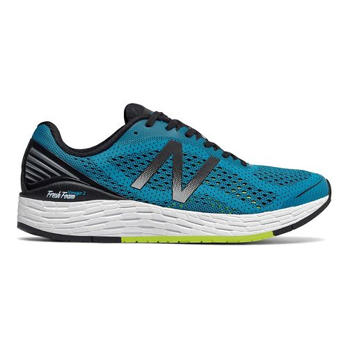 Mens New Balance Fresh Foam Vongo v2 Running Shoe - Blue/Black 9