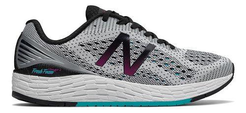 Womens New Balance Fresh Foam Vongo v2 Running Shoe - White/Black 10.5