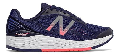 Womens New Balance Fresh Foam Vongo v2 Running Shoe - Blue/Pink 7.5