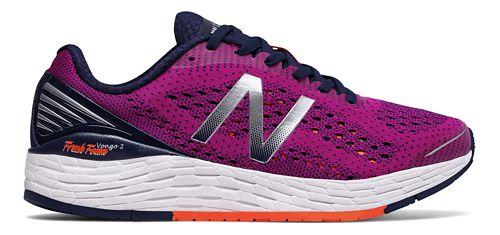 Womens New Balance Fresh Foam Vongo v2 Running Shoe - Berry/Tangerine 7