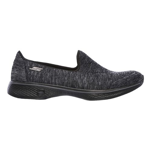 Womens Skechers GO Walk 4 - Astonish Casual Shoe - Black 6.5