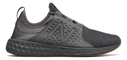 Mens New Balance Fresh Foam Cruz v1 Omni Running Shoe - Black/White 9