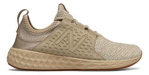Womens New Balance Fresh Foam Cruz v1 Omni Running Shoe - Beige 8