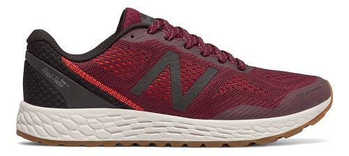 Mens New Balance Fresh Foam Gobi v2 Trail Running Shoe - Oxblood/Black 9