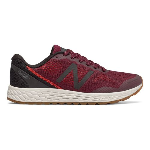 Mens New Balance Fresh Foam Gobi v2 Trail Running Shoe - Oxblood/Black 10.5