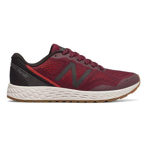 Mens New Balance Fresh Foam Gobi v2 Trail Running Shoe - Oxblood/Black 14