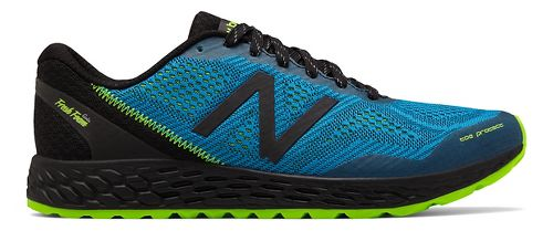 Mens New Balance Fresh Foam Gobi v2 Trail Running Shoe - Bolt/Energy Lime 11.5