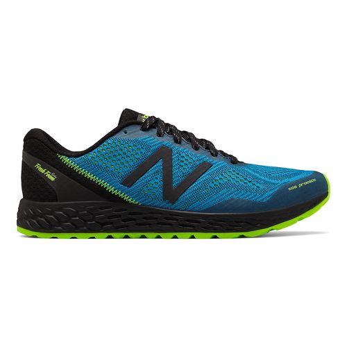 Mens New Balance Fresh Foam Gobi v2 Trail Running Shoe - Bolt/Energy Lime 11