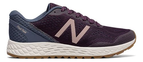 Womens New Balance Fresh Foam Gobi v2 Trail Running Shoe - Maroon/Rose Gold 6