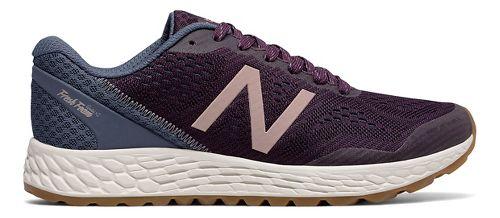 Womens New Balance Fresh Foam Gobi v2 Trail Running Shoe - Maroon/Rose Gold 8.5