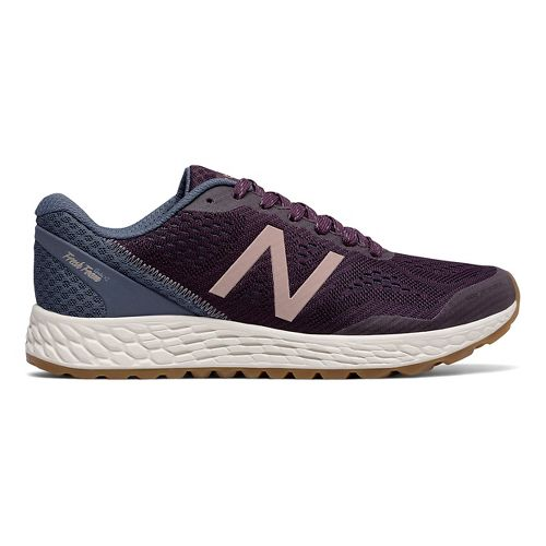 Womens New Balance Fresh Foam Gobi v2 Trail Running Shoe - Maroon/Rose Gold 7