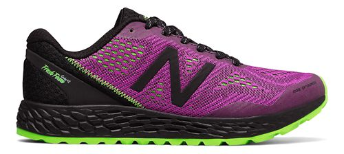 Womens New Balance Fresh Foam Gobi v2 Trail Running Shoe - Berry/Black 5