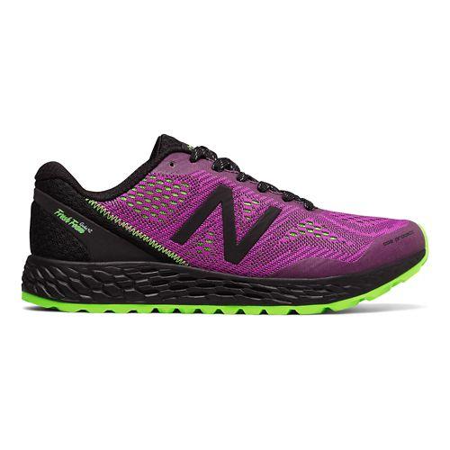 Womens New Balance Fresh Foam Gobi v2 Trail Running Shoe - Berry/Black 6.5