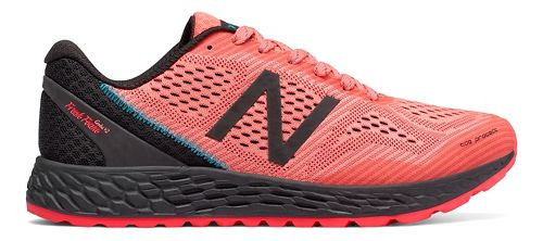 Womens New Balance Fresh Foam Gobi v2 Trail Running Shoe - Coral/Black 10