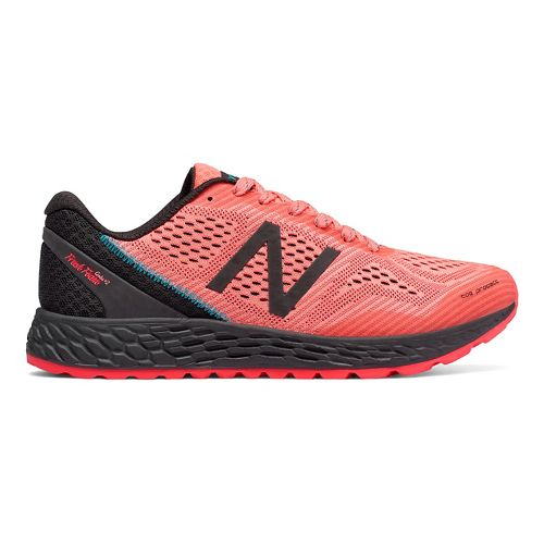 Womens New Balance Fresh Foam Gobi v2 Trail Running Shoe - Coral/Black 7.5