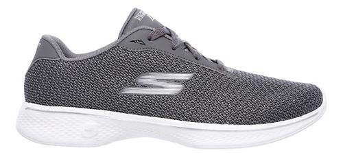 Womens Skechers GO Walk 4 - Glorify Casual Shoe - Grey 6.5