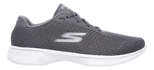 Womens Skechers GO Walk 4 - Glorify Casual Shoe - Grey 7.5