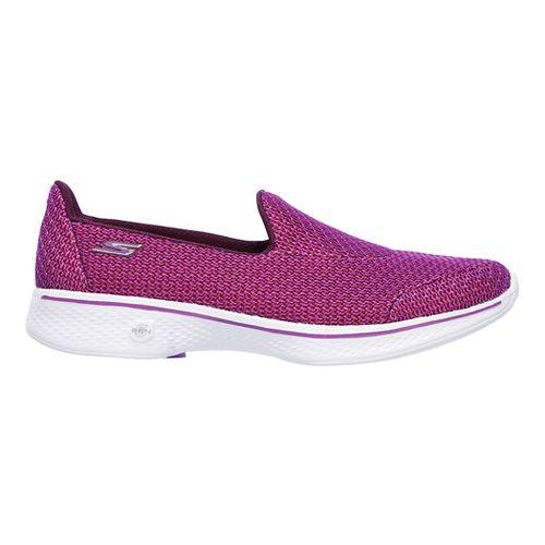 Womens Skechers GO Walk 4 - Majestic Casual Shoe - Purple 8.5