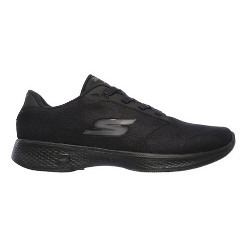 Womens Skechers GO Walk 4 - Premier Casual Shoe - Black 8.5