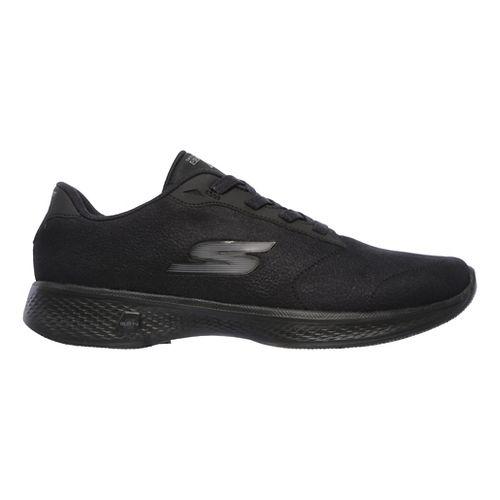 Womens Skechers GO Walk 4 - Premier Casual Shoe - Black 9