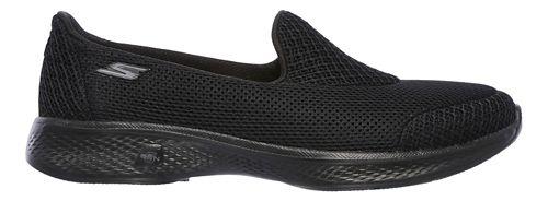 Womens Skechers GO Walk 4 - Propel Casual Shoe - Black 10.5