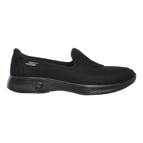 Womens Skechers GO Walk 4 - Propel Casual Shoe - Black 8.5