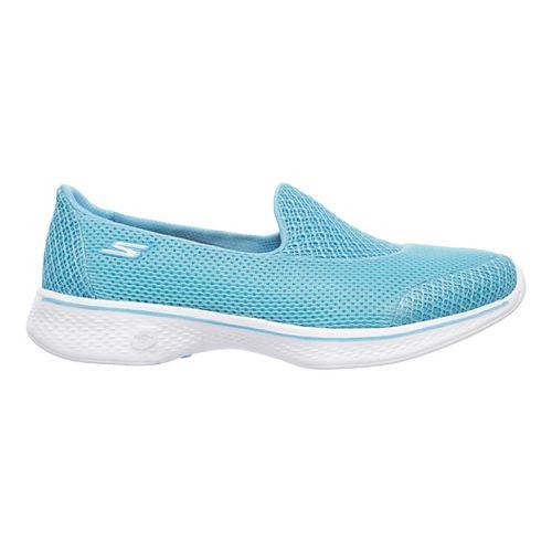 Womens Skechers GO Walk 4 - Propel Casual Shoe - Taupe 5