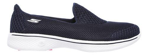 Womens Skechers GO Walk 4 - Propel Casual Shoe - Navy/White 9