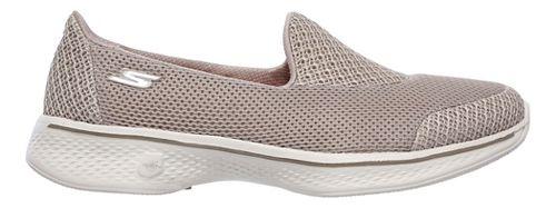 Womens Skechers GO Walk 4 - Propel Casual Shoe - Taupe 9