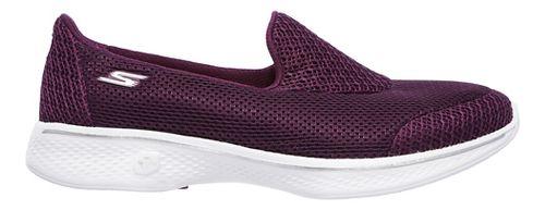 Womens Skechers GO Walk 4 - Propel Casual Shoe - Raspberry 11