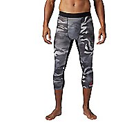 Mens Reebok Spray Camo 3/4 Tights & Leggings Pants