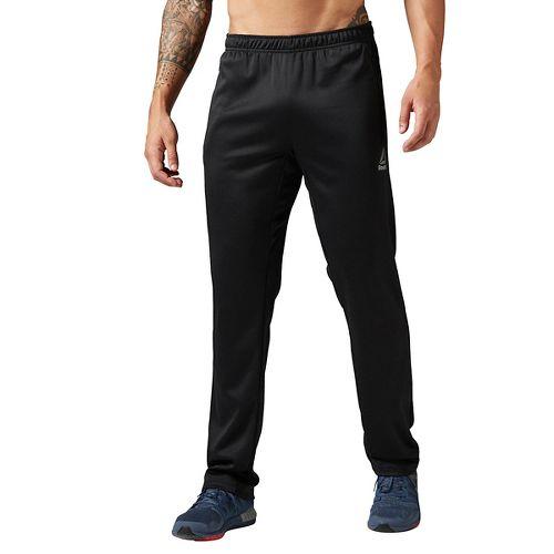 Mens Reebok Workout Ready Elitage Group OH Pants - Black M