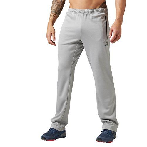 Mens Reebok Workout Ready Elitage Group OH Pants - Grey L